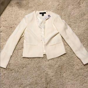 New white cream off white blazer small forever 21